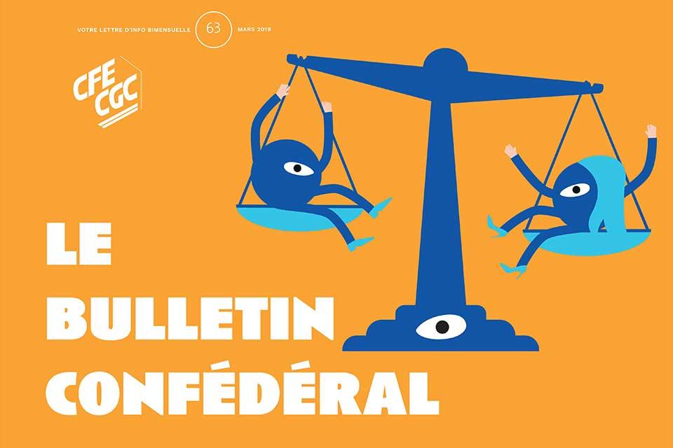 Le bulletin confédéral n°63 de la CFE-CGC